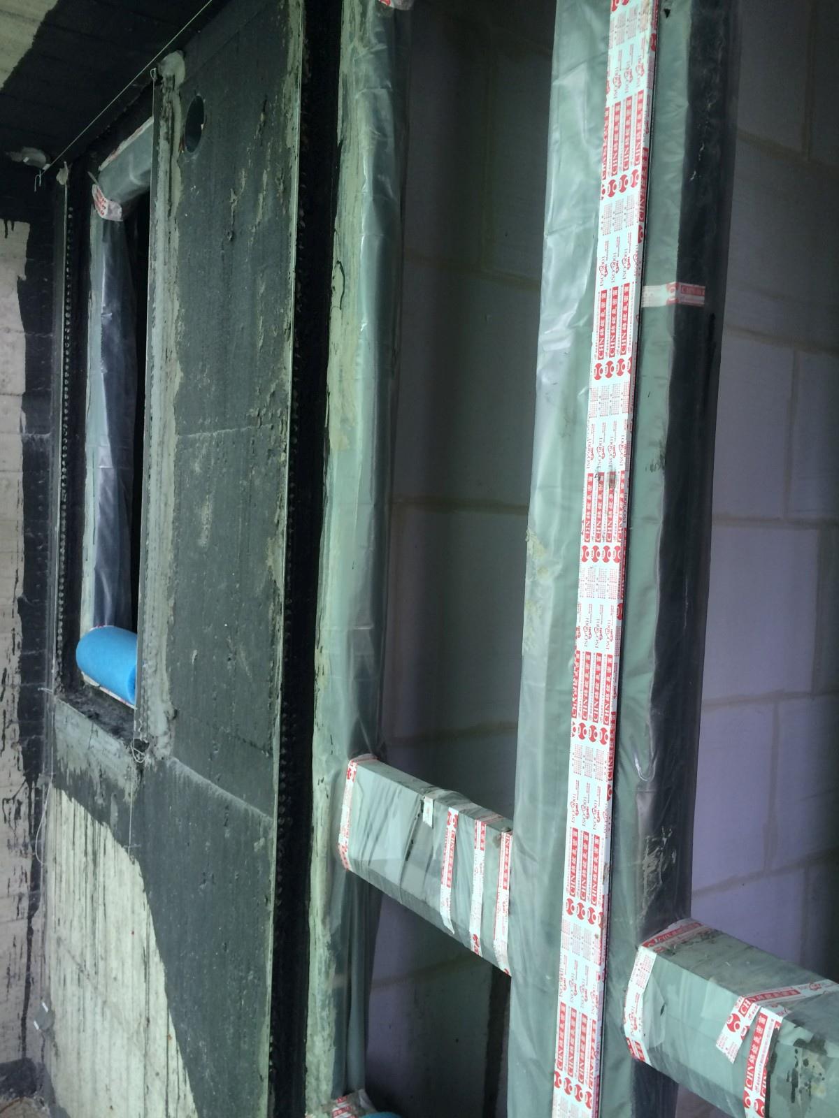 [新竹光埔] 興築建設-興世代(大樓)2015-06-28 007 窗框防水