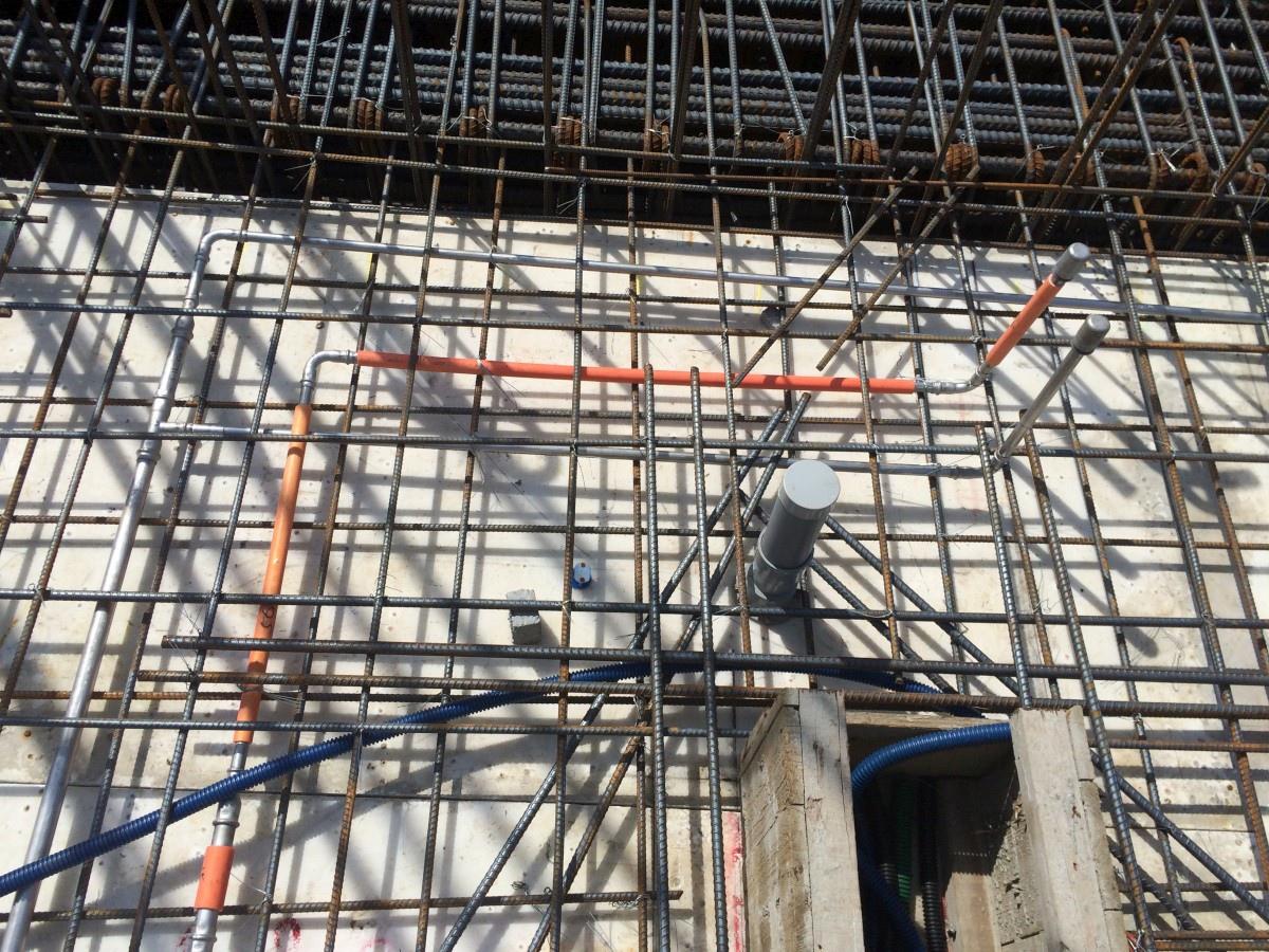 [新竹光埔] 興築建設-興世代(大樓)2015-06-28 015 冷熱不鏽鋼水管(隔熱包覆)