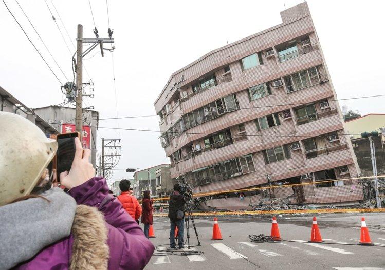 [住週時論] 地震之後的房地產日記(圖片來源:聯合新聞網)2016-02-06 003.jpg