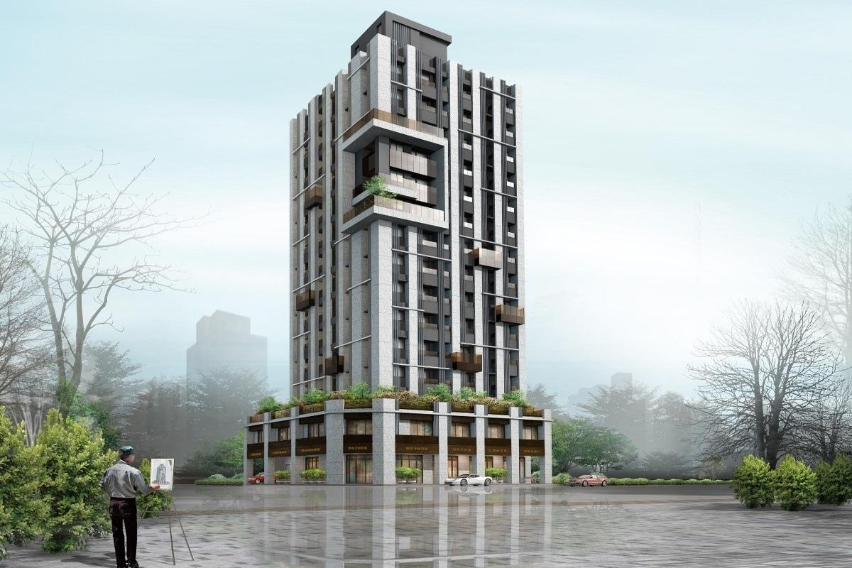[新竹三民] 群新建設「群新風度」(大樓) 2016-12-19 001