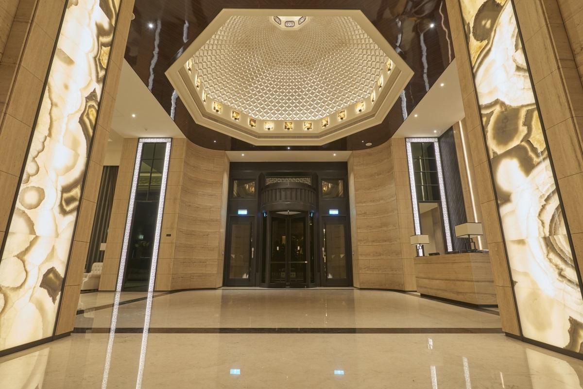 [竹北縣三]山璞翰林富苑(大樓)20170320-03 大廳穹頂