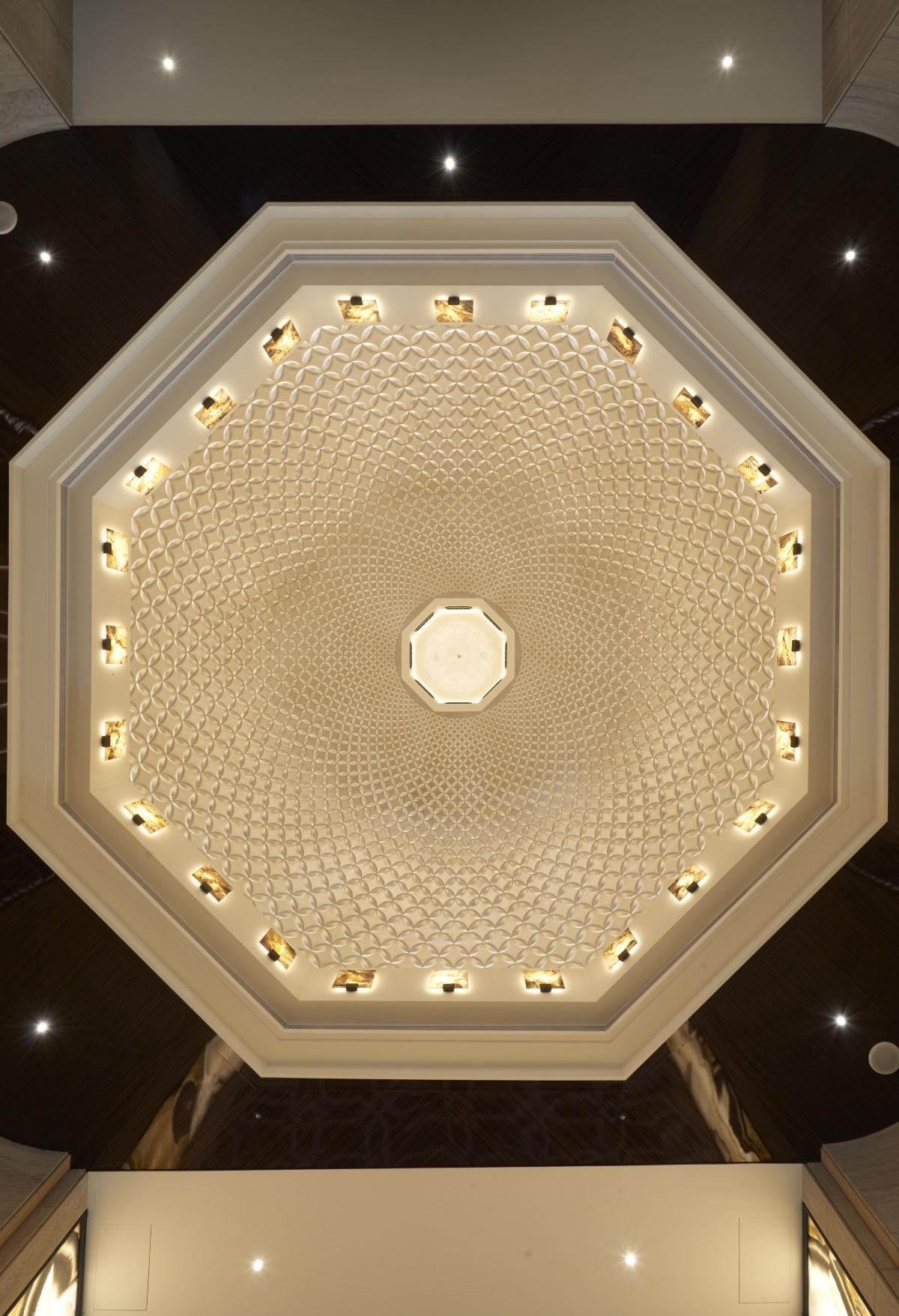 [竹北縣三]山璞翰林富苑(大樓)20170320-04 大廳穹頂