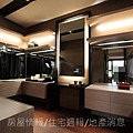 瑞騰建設「青川之上」37樣品屋主臥更衣室.JPG