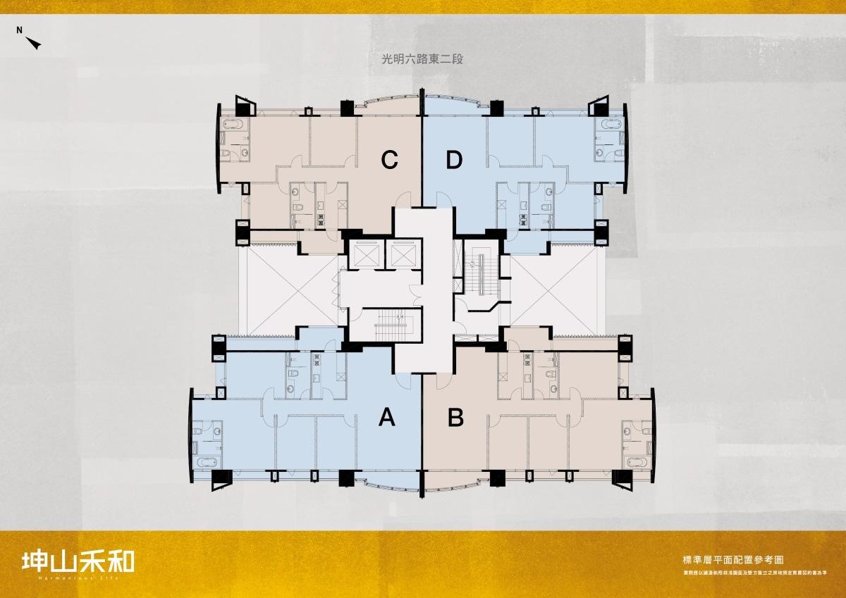 [竹北高鐵]坤山建設-坤山禾和(大樓) 20170606-02.jpg