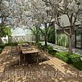 鴻柏建設「鴻馥」39中庭休息區透視圖.jpg