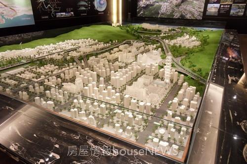 甲山林建設「城上城」模型12.JPG