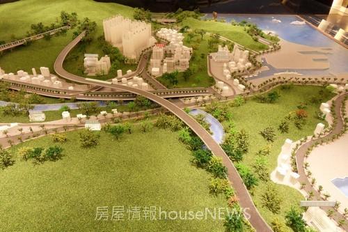甲山林建設「城上城」模型13.JPG