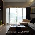 竹風建設「高峰會」樣品屋3+1房01.JPG