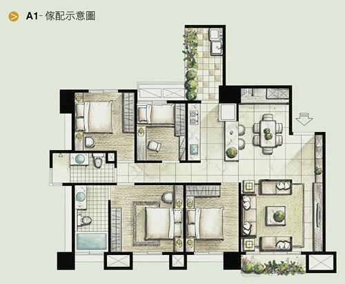 名發建設「三境」72 A1家配圖.jpg