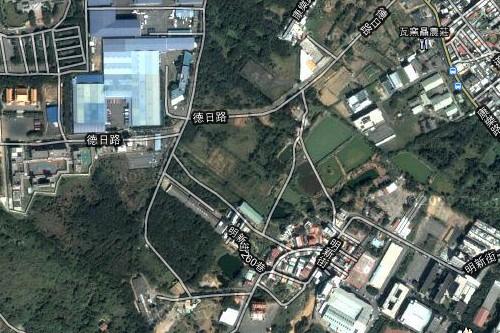 [新豐] 新豐坪頂重劃區Google衛星空照圖(年代久遠) 2011-03-16.jpg