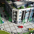 建祥建設「簡璞」07外觀模型.JPG