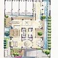鉅虹建設「鉅虹雲山」2011-03-03 15-1樓景觀公設動線參考平面圖.jpg