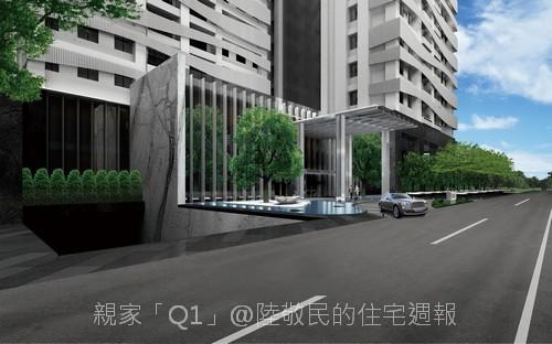 親家建設「Q1」2011-02-24 01-車道入口.jpg