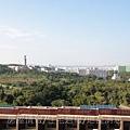 雄基建設「原風景」44實品屋A4主臥室俯瞰樹海.JPG