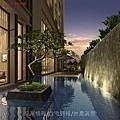 螢達建設「上品院」04景觀水池透視圖.jpg