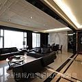 瑞騰建設「青川之上」15樣品屋客廳.JPG