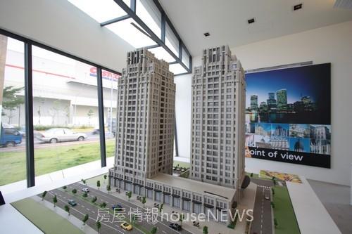 浩瀚開發建設「新竹1號」01外觀模型.JPG
