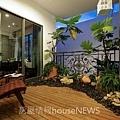 大任建設「與園」05樣品屋空中庭院參考裝潢.JPG
