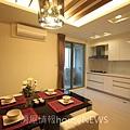 弘新建設「達觀」24 2F廚餐廳.JPG