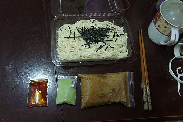 不知未來如何的日式涼麵