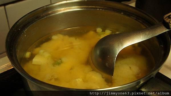 20大正咩煮的味噌湯