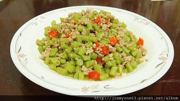 21炒盤菜給老媽當午餐菜