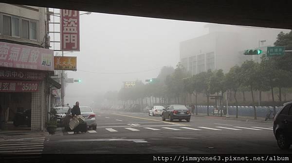 14今日台北霧茫茫