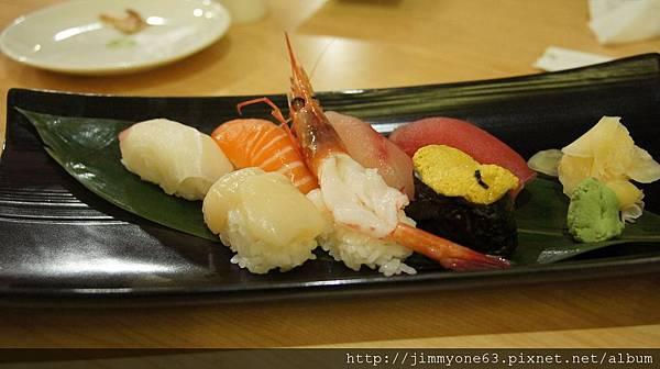 66綜合七品握壽司