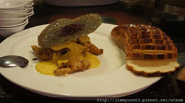 043咖哩炸肉麵包