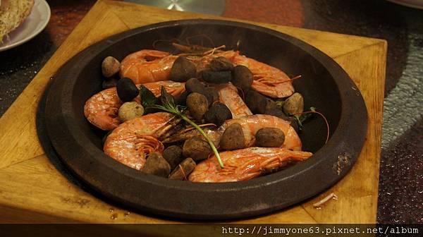 049石頭烤蝦