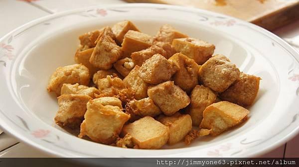 09豆腐酥炸過