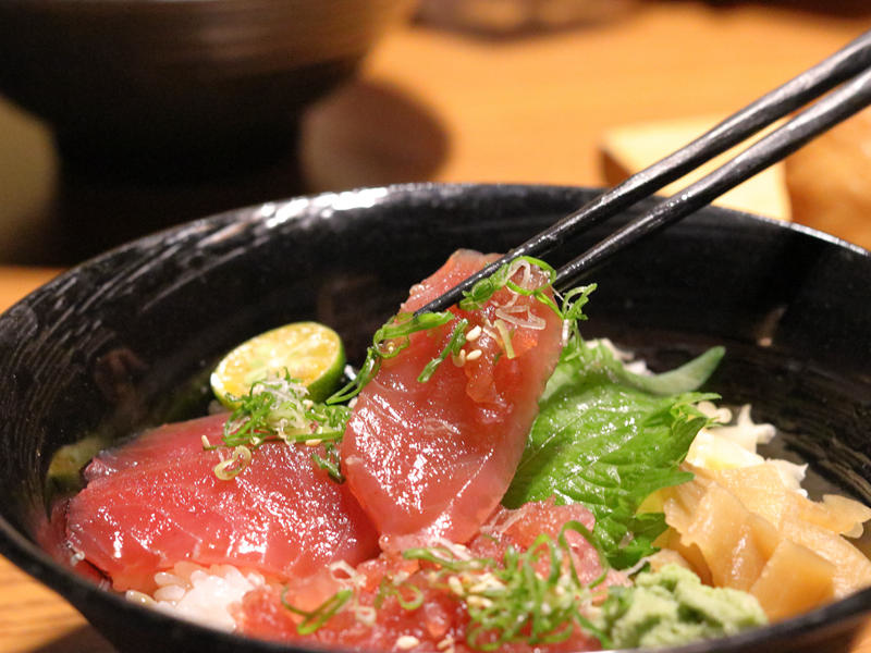 桀壽司_鐵火丼的鮪魚.jpg
