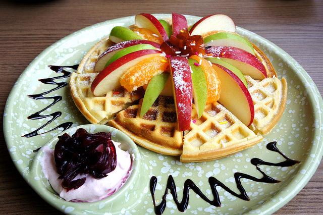 菁悅天空-水果鬆餅
