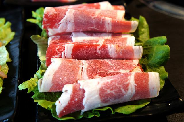 五花牛肉盤