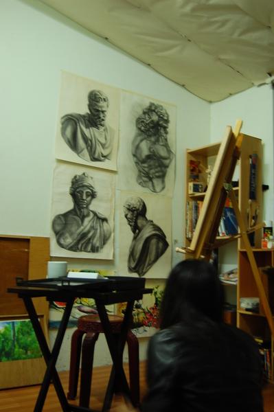 畫室另一張