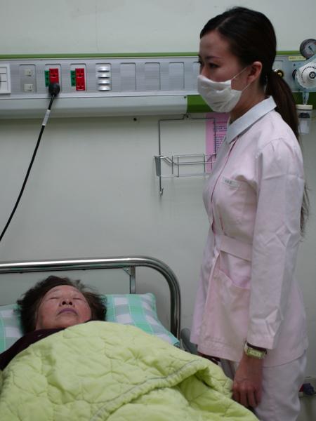 護士與阿嬤
