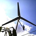 爸爸自做的風力發電
