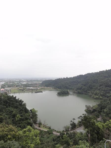 梅花湖全景