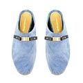 【WENG COLLECTION】牛仔金屬扣飾方便鞋 淺藍 NT$4280.jpg
