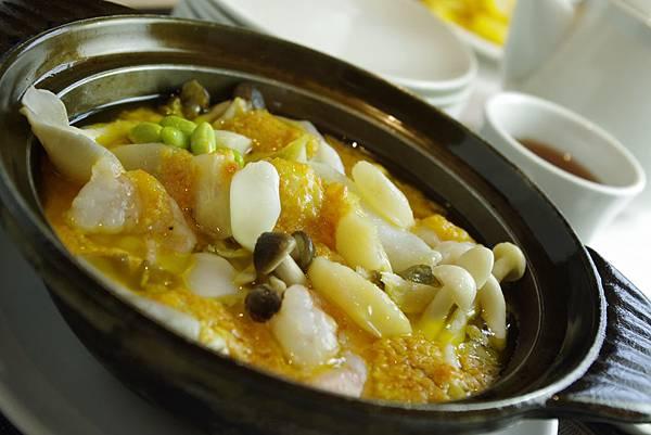 蟹黃海鮮煲