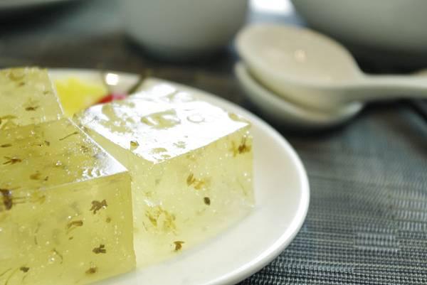 蘆薈桂花糕