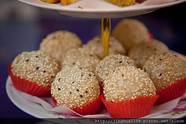 港式飲茶好吃的年菜│紅豆芝麻球