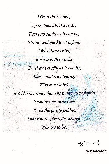 Ka Yung Poem