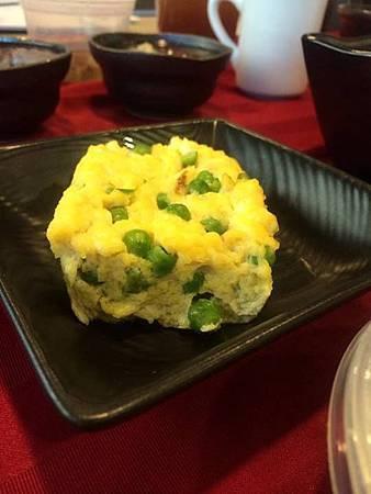 早餐: 青豆烘蛋