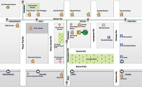 Grande Centre Point Ratchadamri MAP