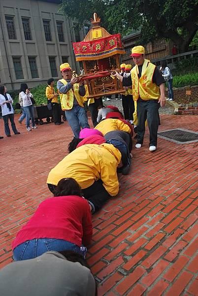 博物館員工-金瓜石居民很少見這樣的儀式