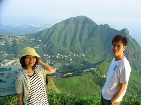 茶壺山對面的基隆山