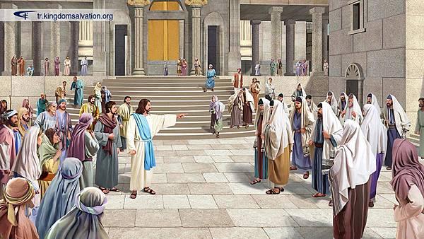 全能神、全能神教會、東方閃電、主耶穌、法利賽人