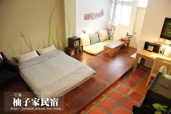 柚子家三樓雙人房