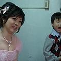 昱暢與姑姑合照